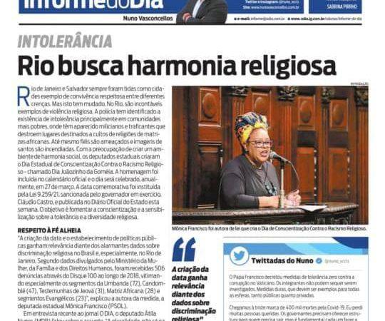 Leis para combater a discriminação e o racismo contra as religiões de matriz africana