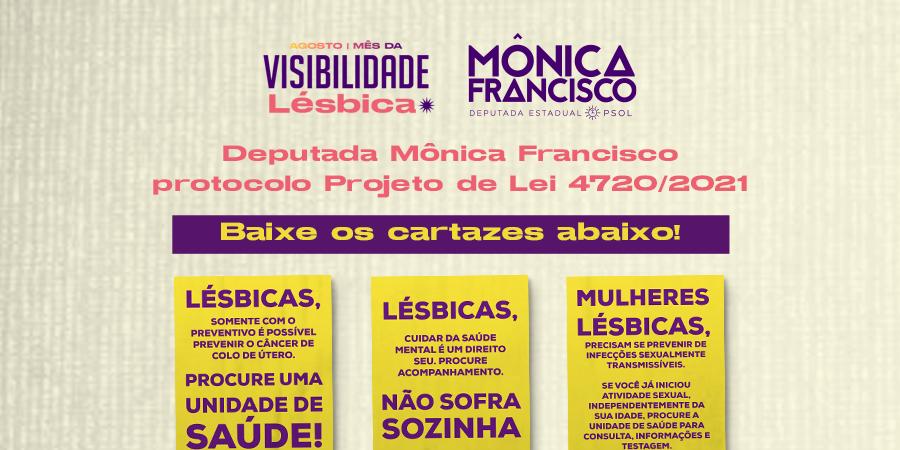 Deputada Mônica Francisco protocolo Projeto de Lei 4720/2021